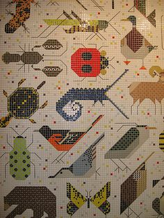1000 images about artist harper charley on pinterest for Charley harper mural