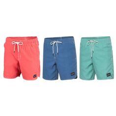 De @oneill1952 Sunstruck Shorts voor heren is een tikkeltje retro door het korte model en de vintage wassing van deze #zwembroek.
