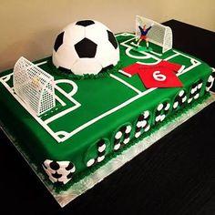 Image result for soccer ball cake soccer pirch Sports Birthday Cakes, Football Birthday Cake, Sports Themed Cakes, Soccer Birthday Parties, Soccer Party, Birthday Fun, Isaiah 10, Soccer Ball Cake, Cakes For Sale