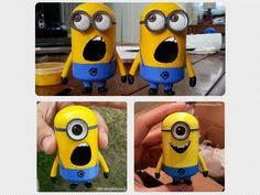 Minions with different facial expressions. Please take the time to check out my social media pages and showing your support by liking or following my projects. Thank you. Follow EmbeddedJunkie on Instagram, Facebook, Twitter, Google+ http://instagram.com/EmbeddedJunkie https://www.facebook.com/EmbeddedJunkie https://twitter.com/EmbeddedJunkie http://plus.google.com/+EmbeddedJunkie http://www.EmbeddedJunkie.com