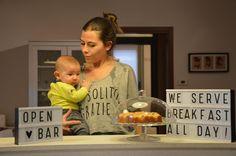 di look comodi e divertenti per allattamento a richiesta!