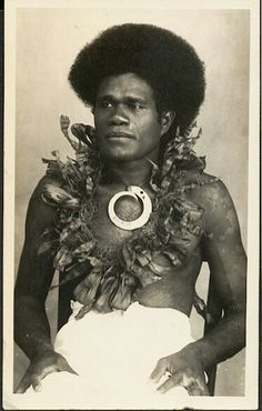 Fiji island native #indigenous