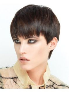 If you are looking for short wigs, this wigs site will give you a large selections. Find Straight Modern Pixie Wig at trendy styles. Trending Hairstyles, Latest Hairstyles, Pixie Hairstyles, Short Brown Hair, Short Straight Hair, Dark Chocolate Brown Hair, Brown Hair With Blonde Highlights, Haircut For Older Women, Short Pixie Haircuts
