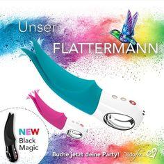 """Bunte Farben, alles erblüht von neuen, die Röcke werden wieder kürzer....  muss der Frühling sein! . Unser """"Flattermann"""" ist auch schon da 💓! Was kann der... Was macht der....ist der Wasserdicht? Das würdet ihr gerne wissen 😁! . Party buchen und ich stelle euch den """"Flattermann"""" vor......für noch schönere Flühlingsgefühle 💖💗❤💞! . #österreich🇦🇹 #dildofee #mädelsabend #party #partybuchen #dildoparty #frühlingsgefühle #love #sexspielzeug #toyparty #volta #lifestyle #fee #lovemyjob Dildo, Party, Movies, Movie Posters, Fairy, Knowledge, Nice Asses, Films, Film Poster"""