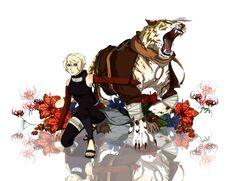 Naruto OC:Summon golden tiger by Na-Nedam.deviantart.com on @DeviantArt