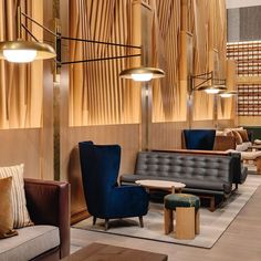The third Arlo hotel joins its SoHo and NoMad siblings, and stakes out its own territory in the Garment District, one of Manhattan's busiest neighborhoods. But thanks to its luxe comforts, its rooms and suites are something of a refuge from the chaos of the city. The style is contemporary, modernist-influenced but not retro; wood, leather, marble, and tile give the surfaces plenty of texture.