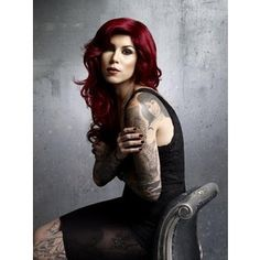 I love her! Kat Von D Adora. Love her hair; mine is this color.
