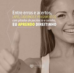 #mensagenscomamor #frases #erros #acertos #pensamentos #reflexões #aprendendo #vida