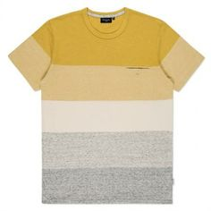 Paul Smith Men's T-Shirts - Yellow Gradient Stripe T-Shirt