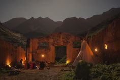 Rainbow Gathering, Grand Canary Island, Spain