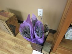 You can find lavender bouquets in our store.