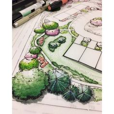 """1,289 Likes, 9 Comments - LANDSCAPE ARCH. RENDERING (@landscapearch.rendering) on Instagram: """"Today's feature hails to us from UGA! #regram #landscapearchrendering #landscapearch #rendering…"""""""
