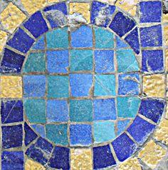 Squircle - Hearst Castle - Roman Pool mosaic tile