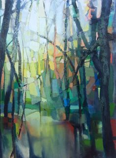 The Color Teil: abstract forest