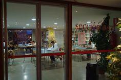 Sección local en la Biblioteca Torrente Ballester