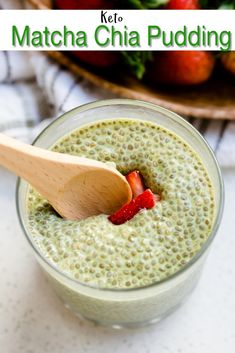 Love matcha green tea and also looking for new keto-friendly snacks to power you through the day? Then check out these 25 savory keto matcha desserts recipes that will sure satisfy your craving. Chai Pudding, Matcha Chia Pudding, Keto Chia Pudding, Pudding Recipes, Chia Seed Pudding Recipe, Keto Recipes, Cooking Recipes, Keto Chia Seed Recipes, Chia Seed Recipes For Weight Loss