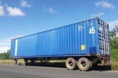 Se roban furgón con mil 163 televisores plasmas, según Aduanas