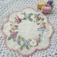 #자수#일상#취미 #프랑스자수#광양프랑스자수 #순천프랑스자수 #embroidery #stitch #needlework