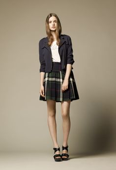 BURBERRY BLUE LABEL Lookbook 2013