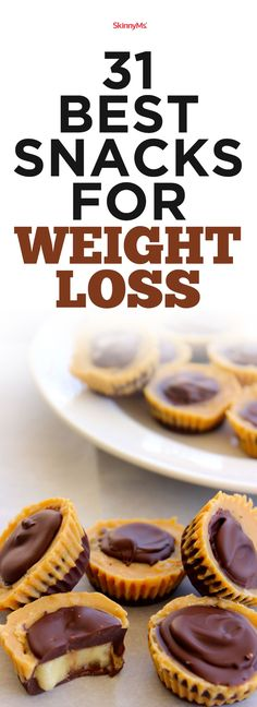 The best snacks for weight loss don't have to be boring and bland. This list features delicious options to curb your cravings without sabotaging your progress.
