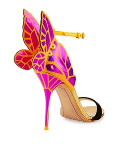 Sophia Webster	 Chiara Butterfly Wing Sandal