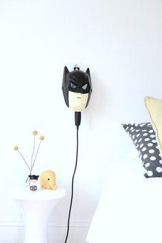 DIY Batman Bedside Lamp | Handmade Charlotte