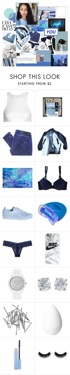 """""""☄. play ya position, here come my intuition, go in this n*gga pocket, rob him while his friends watchin'."""" by eq-uanimity ❤ liked on Polyvore featuring T By Alexander Wang, Gestuz, lululemon, DENY Designs, Zephyr, Aerie, adidas, American Eagle Outfitters, Casetify and MICHAEL Michael Kors"""