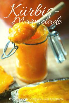 Pumpkin jam with apple - Pumpkin Dessert Pumpkin Jam, Baked Pumpkin, Pumpkin Dessert, Healthy Cake, The Breakfast Club, Marmalade, Hot Sauce Bottles, Vegan Recipes, Good Food