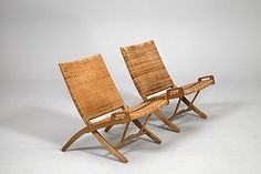 Pair of Folding Chairs JH-512