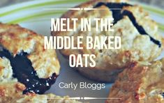 Baked Oats are a diet plan staple but why not try these delicious Melt in the Middle Baked Oats for something a little different? Fanta Chicken, Sweet Sour Chicken, Chicken Bacon, Bacon And Mushroom Risotto, Easy Yorkshire Pudding Recipe, Baked Oats, Cooked Apples, Gluten Free Oats, Slimming World Recipes