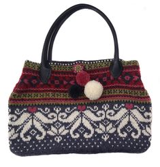 "New Cheap Bags. The location where building and construction meets style, beaded crochet is the act of using beads to decorate crocheted products. ""Crochet"" is derived fro Knitting Yarn, Knitting Patterns, Crochet Patterns, Rowan Yarn, Cheap Bags, Knitted Bags, Felted Bags, Bead Crochet, Crochet Designs"