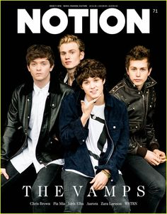the vamps 2015 notion magazine cover 01