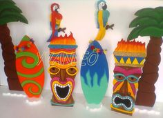 Image result for decoracion fiestas hawaianas