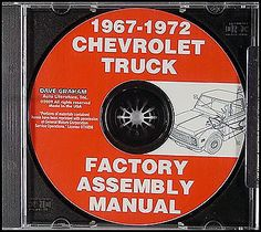 Gmc chevy truck #assembly #manual cd 1972 1971 1970 1969 1968 1967 #chevrolet ,  View more on the LINK: http://www.zeppy.io/product/gb/2/400735893799/