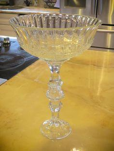 DIY 3 Dollar Shabby Chic Wedding Centerpiece Vase - Spring Time Tables