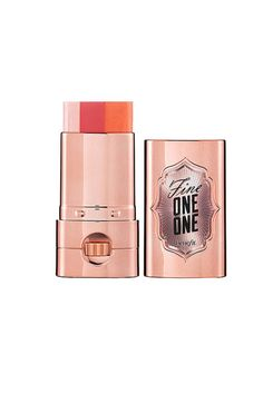 What: A sheer multicolor highlighter stick that is easy-to-use and adds a natural shine.   Pro Tip: This new launch is perfect for everyday use. The shade works on all skin tones and wears like a balm. Apply generously to the apple of your cheek and blend upwards along your cheekbone to instantly brighten up your complexion.  Benefit Fine One-One, $30; sephora.com   - ELLE.com