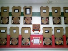 Fractions bulletin board using pizza boxes!  I want to do this with my 4th graders!