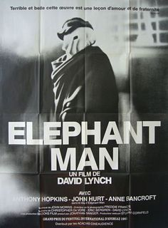 French grande for THE ELEPHANT MAN (David Lynch, UK, 1980)