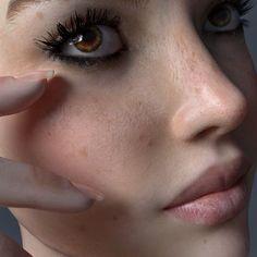 ArtStation - Blender 3D - Skin Shader Vers.6, Team Dee van Hoven / JLE Studios