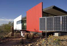 Prefab Desert Homes - modern sustainable prefab home