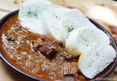 Znojemský guláš Chicken Recipes, Pork, Beef, Cheese, Cooking, Kale Stir Fry, Meat, Pork Chops, Steak