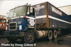 Late 70's Chev Titan day cab - Maislin Transport.