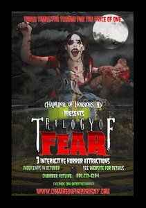 You won't want to miss our latest haunt review for Chamber of Horrors: Trilogy of Fear located in Hauppauge. We've got all the gory details on this haunt that you'll want to check out as you get ready for a scary-fun weekend!
