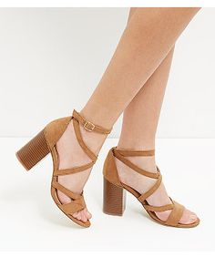 Discover the latest trends at New Look. Block Sandals, Block Heels, Shoe Gallery, Strappy Sandals, Lbd, New Look, Heeled Mules, Latest Trends, Peep Toe