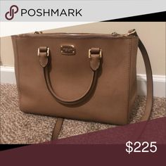Michael Kors two strap handbag Tan bag, great condition only rarely used. Bags Satchels