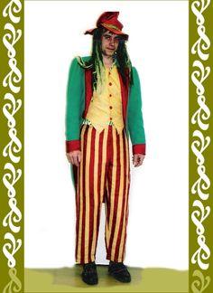 kostým vodník zelený frak, půjčovna Ladana