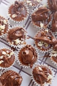 Nutella knäck - It's all about chocolate - Nutella Christmas Sweets, Christmas Goodies, Christmas Candy, Christmas Baking, Homemade Sweets, Homemade Candies, Cookie Desserts, Chocolate Desserts, Chocolate Chocolate