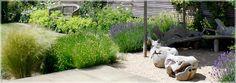 Contemporary Garden Design London – UK Garden Designers - planting style
