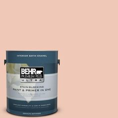 BEHR Premium Plus Ultra 1-gal. #M190-2 Everblooming Satin Enamel Interior Paint