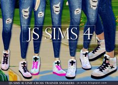 JS Sims 4: UNIF Cross Trainer Sneakers http://js-sims.blogspot.com.es/2015/04/js-sims-4-unif-cross-trainer-sneakers.html